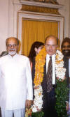 The President of the I.P.O. with Indian Foreign Affairs Minister K. P. Gujral -- Conference on Democracy and Terrorism