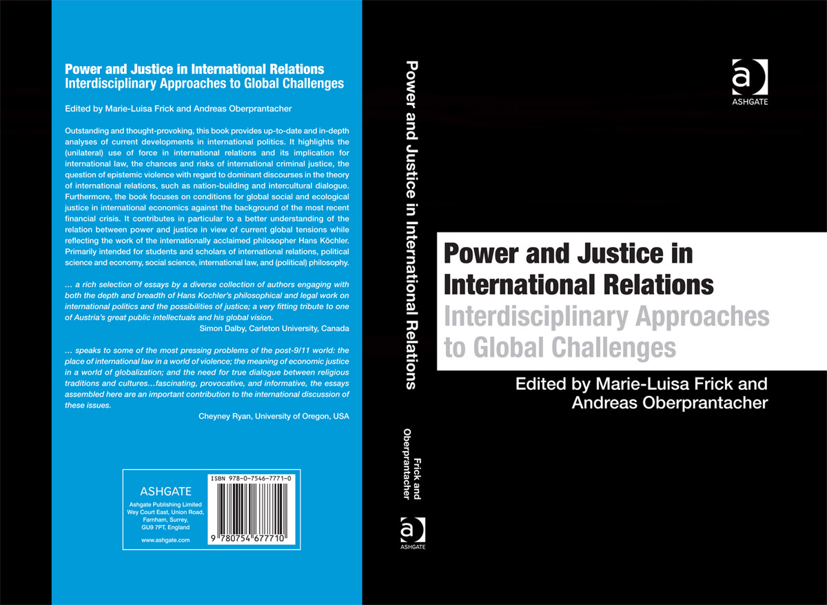 ashgate publishing uk power and justice in international book cover